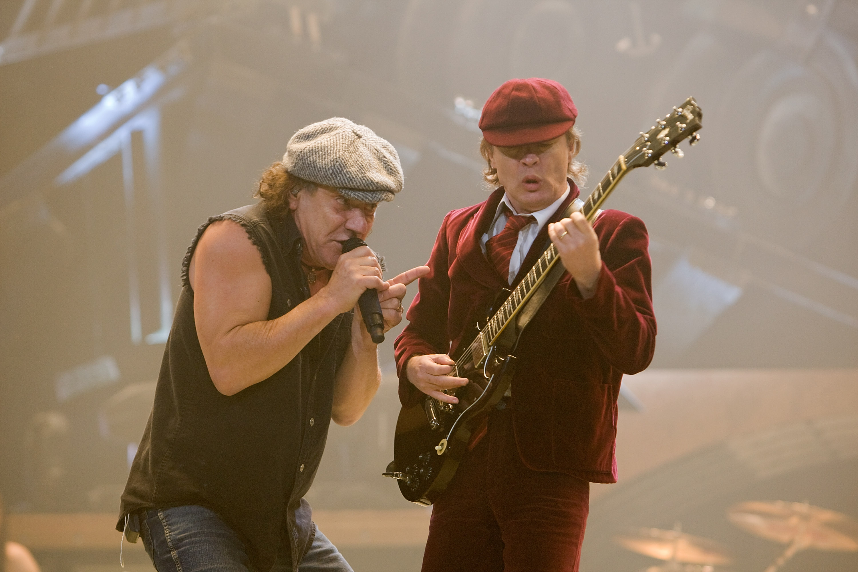 AC/DC Performs at Conseco Fieldhouse in Indianapolis, Indiana