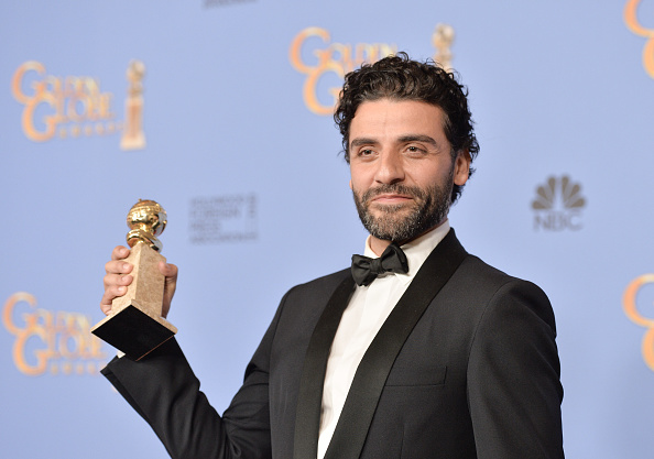 BEVERLY HILLS, CA - JANUARY 10:  Actor Oscar Isaac, winner of the award for Best Performance by an Actor in a Limited Series