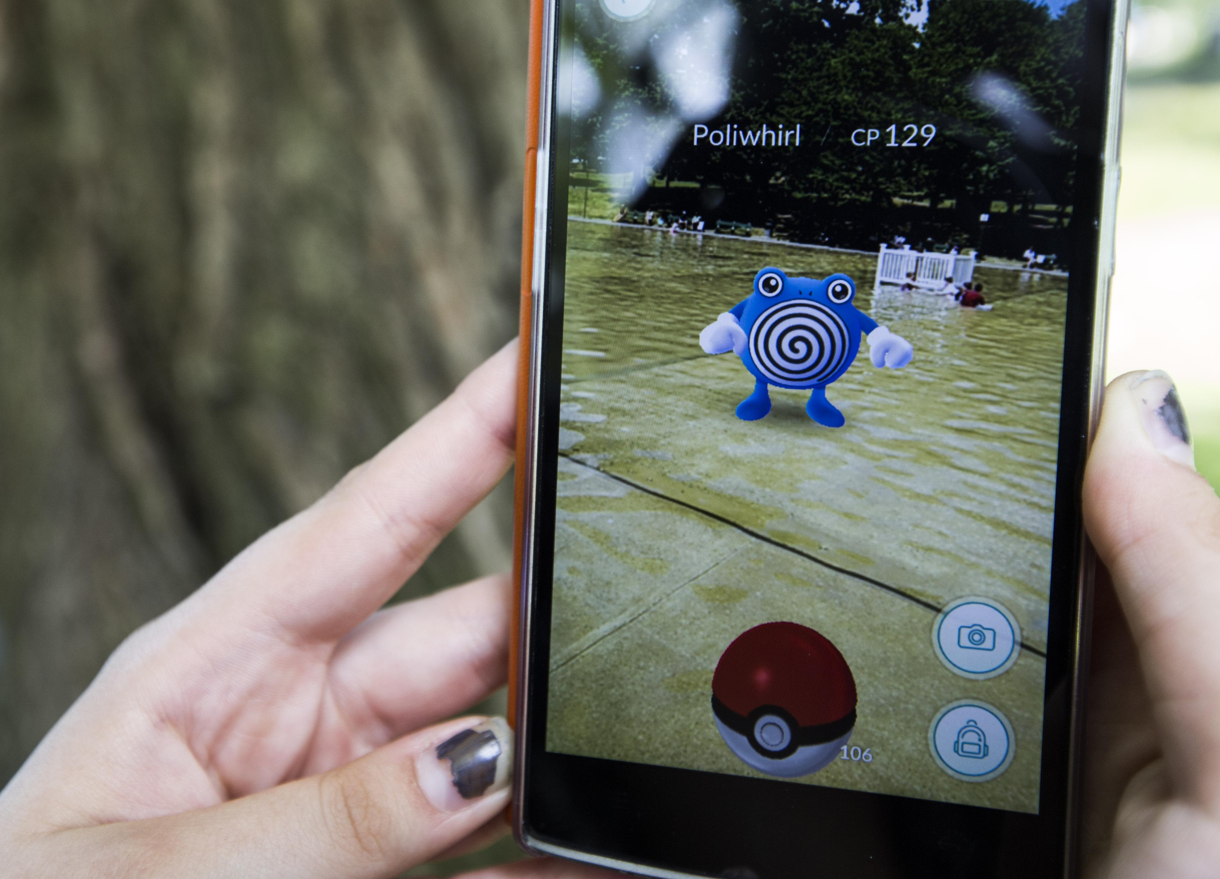 """Millionen von Spielern sind fasziniert von """"Pokémon Go"""""""