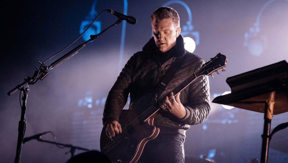 Josh Homme live beim Festival Rock En Seine im Jahr 2014.