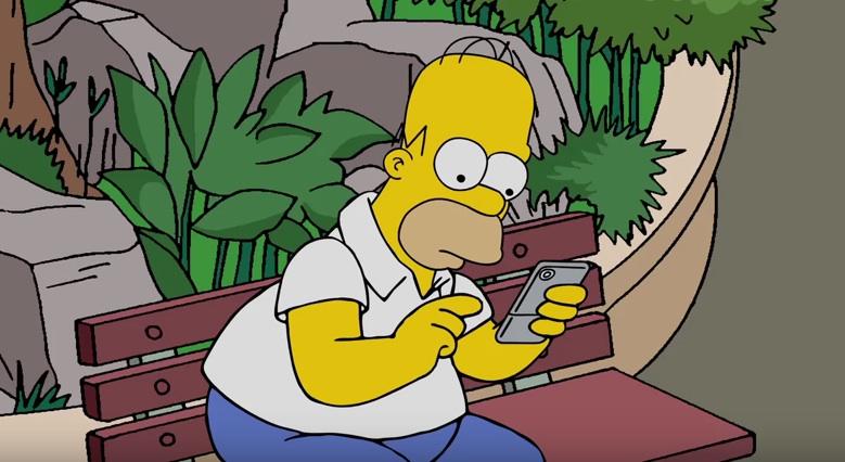 Auch Homer Simpson ist auf der Suche nach Pokémons