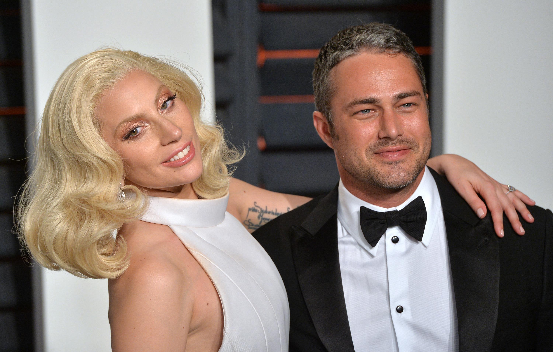 Lady Gaga und Taylor Kinney bei der Oscar-Party 2016