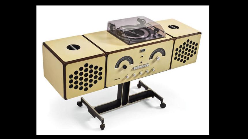 Pier Giacomo und Achille Castiglioni, Brionvega Radiophonograph, Model no. RR 126, 1965
