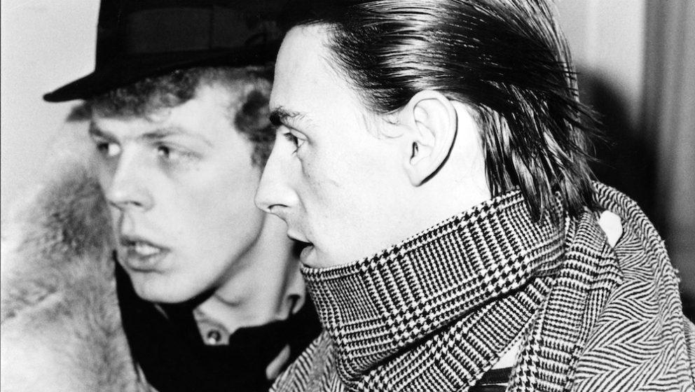 Paul Weller und Nick Talbot, 1984