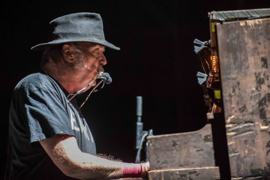 Neil Young Performs In Milan
