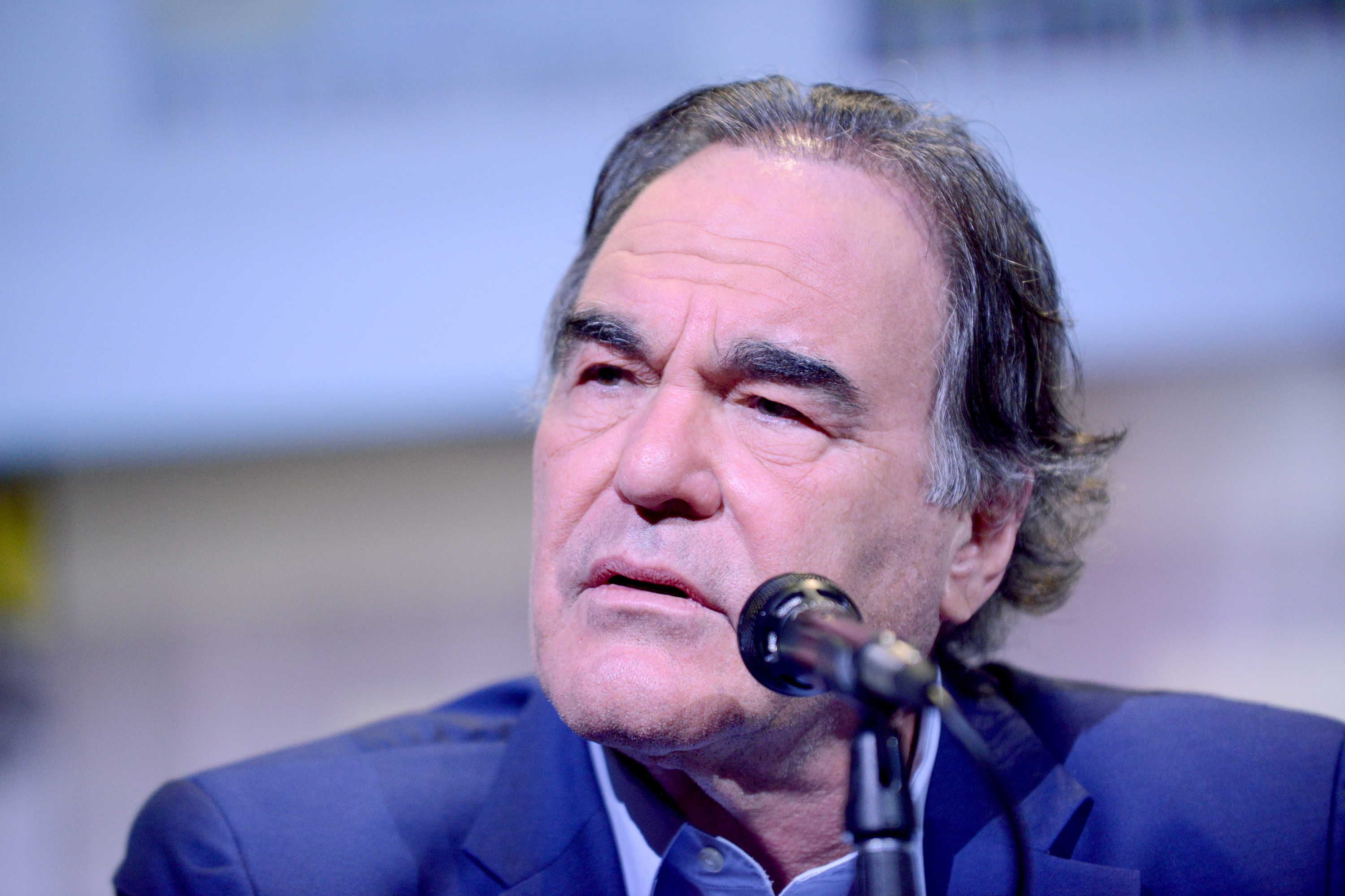 Oliver Stone auf der Comic Convention in San Diego