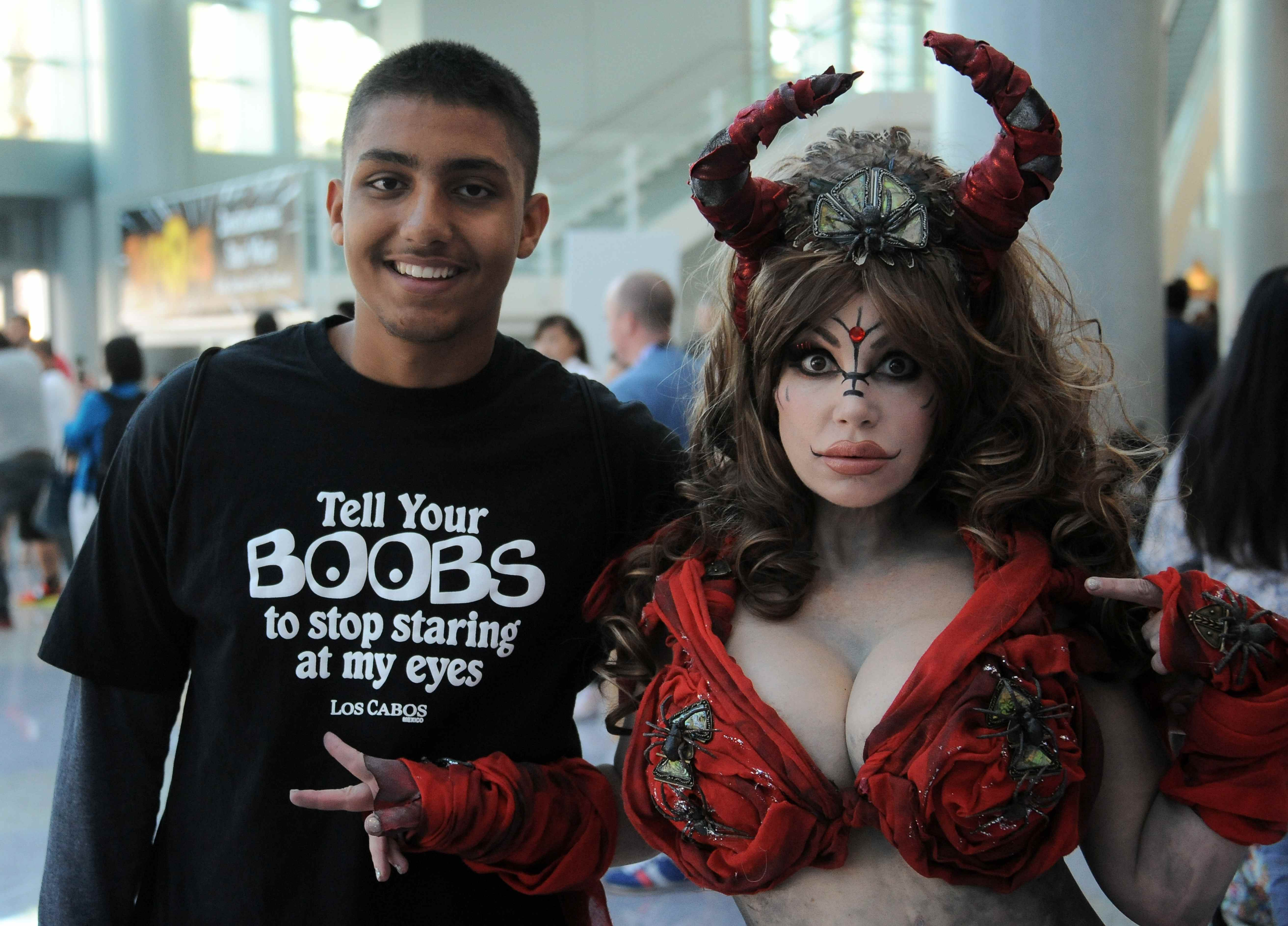 Cosplayer bei der Comic Con in San Diego
