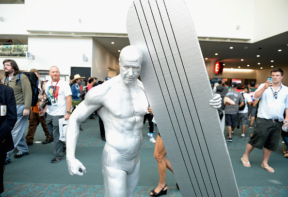 SAN DIEGO, CA - JULY 21:  Cosplayer attends Comic-Con International on July 21, 2016 in San Diego, California.  (Photo by Mat