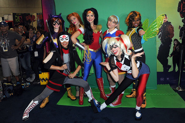 SAN DIEGO, CA - JULY 21:  Cosplayers attend Comic-Con International 2016 at San Diego Convention Center on July 20, 2016 in S