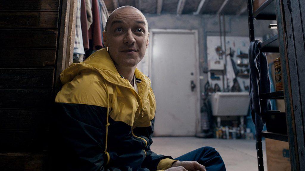 """Sieht wahrlich irre aus: James McAvoy in """"Split"""""""