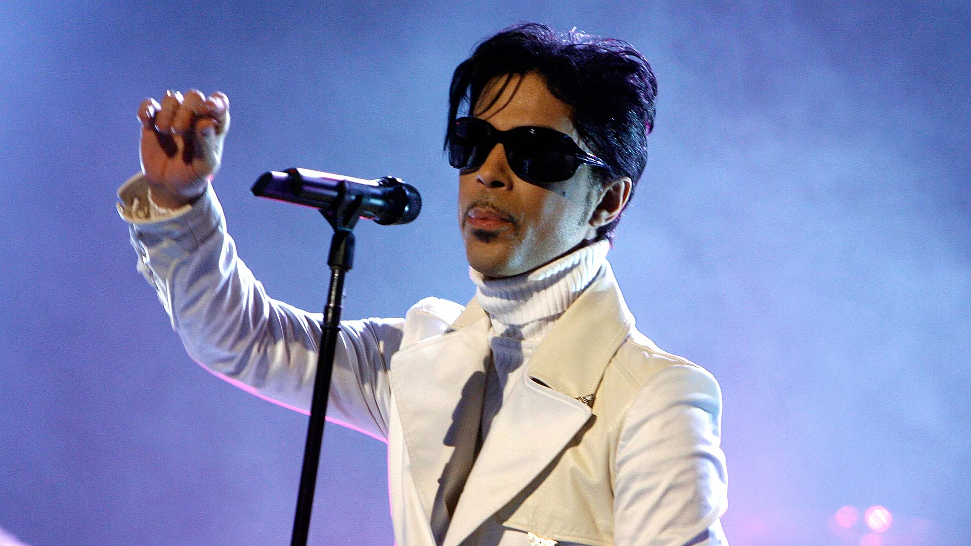 "Prince live bei den ""NCR ALMA Awards"" im Jahr 2007"