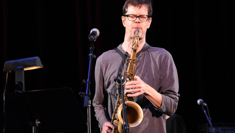 NEW YORK, NEW YORK - APRIL 01:  Donny McCaslin performs 'Lazarus' onstage at Michael Dorf Presents - The Music of David Bowie