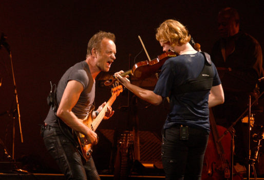 "Sting & Peter Gabriel ""Rock, Paper, Scissors"" North American Tour - Seattle"