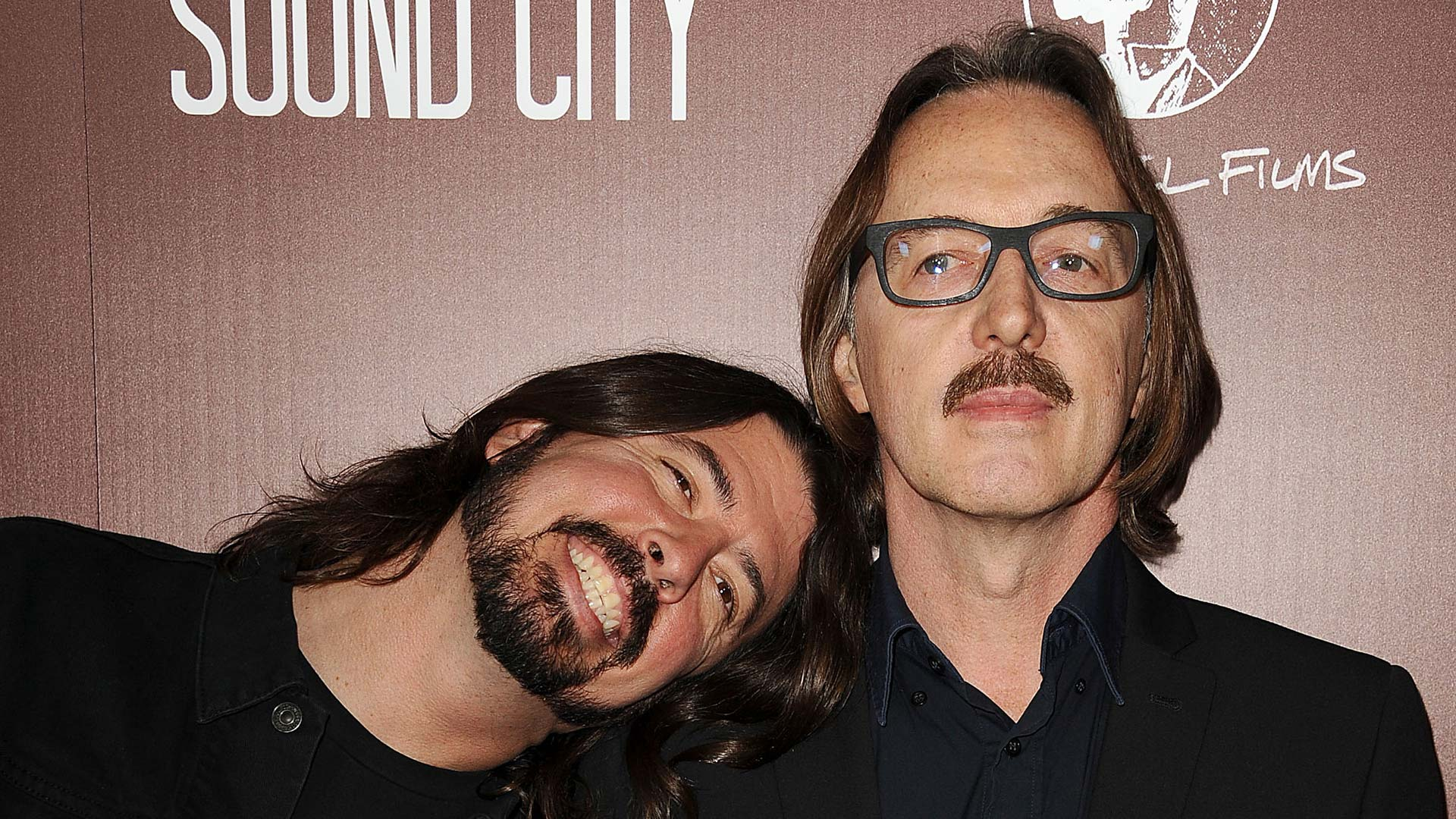 Butch Vig und Dave Grohl