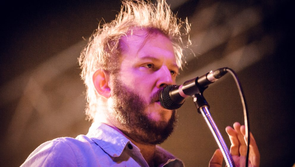 BERLIN, GERMANY - NOVEMBER 14:  Justin Vernon of Volcano Choir performs live during a concert at Huxleys Neue Welt on Novembe