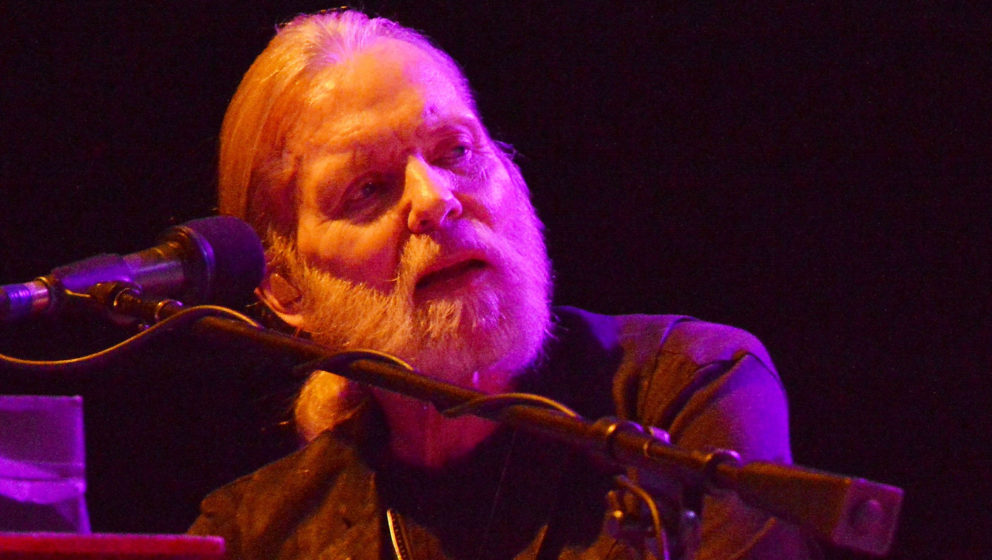 WANTAGH, NY - JULY 23:  Gregg Allman performs onstage at the 2016 Laid Back Fest at Nikon at Jones Beach Theater on July 23,