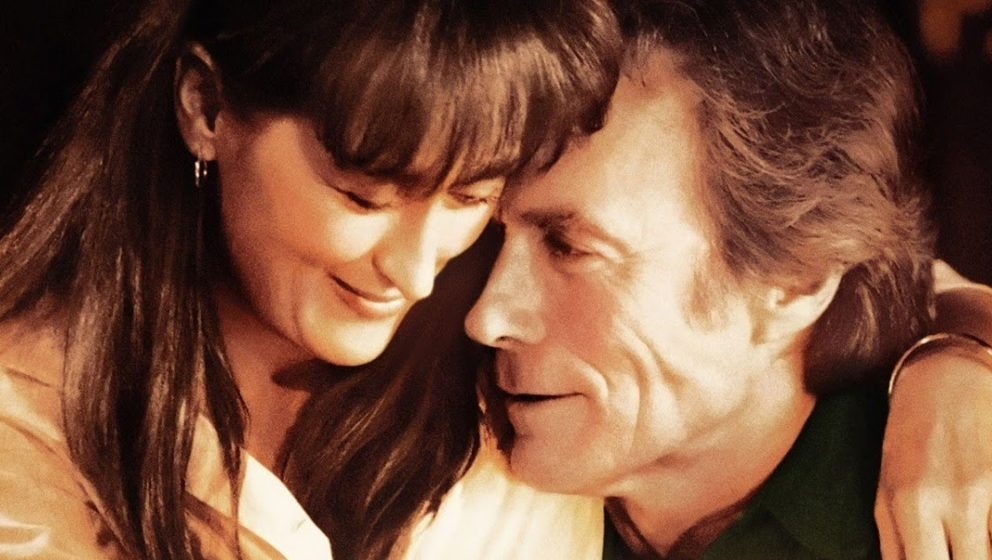 """Meryl Streep und Clint Eastwood einträchtig im Film """"Die Brücken am Fluss"""""""