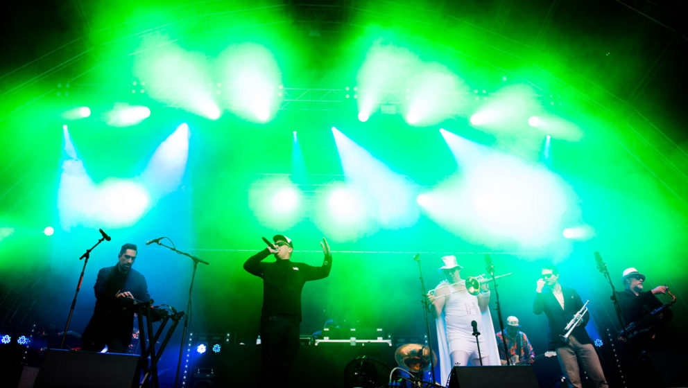 "Fat Freddy's Drop auf dem ""A Summer's Tale"" 2016"