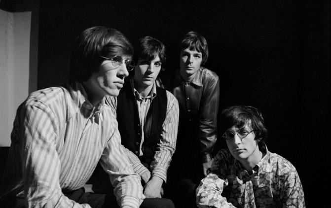 Pink Floyd in jungen Jahren.