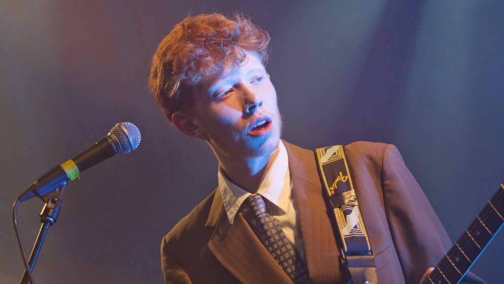 BERLIN, GERMANY - APRIL 09: British singer Archy Samuel Marshall aka King Krule performs live during a concert at the Heimath