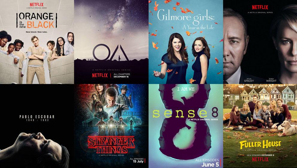 Übersicht über die besten Netflix-Serien