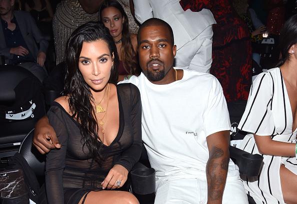 Kim Kardashian und Kanye West in trauter Eintracht