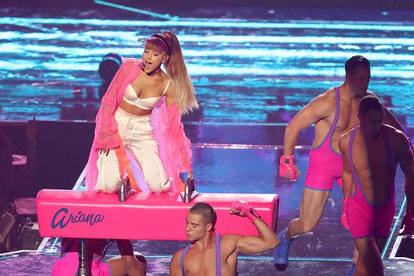 Ariana Grande mag es rosa…