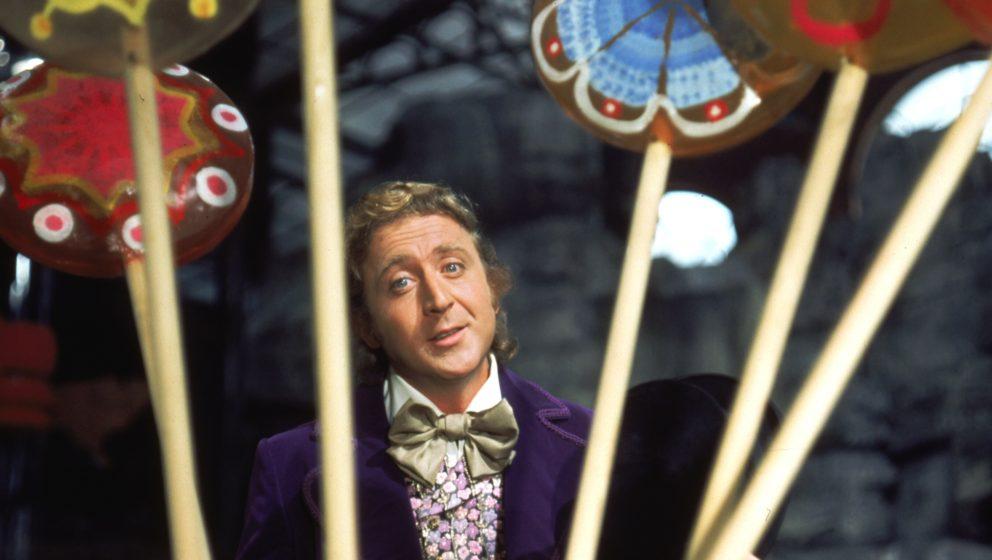 """Gene Wilder als Willy Wonka in dem 70er-Hit """"Charlie und die Schokoladenfabrik"""""""