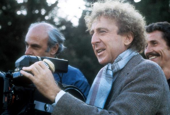 """Gene Wilder stand auch hinter der Kamera, hier für """"Die Frau in rot"""""""