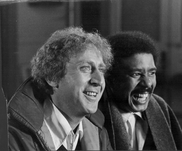 "Gene Wilder mit seinem kongenialen Filmpartner Richard Pryor (""Trans-Amerika-Express"")"