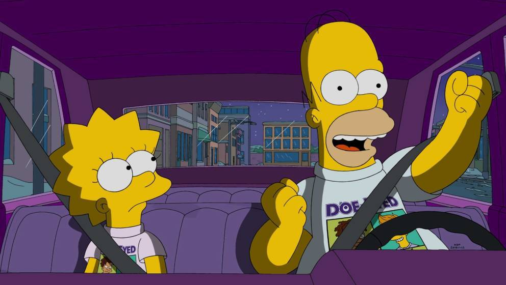 THE SIMPSONS: Homer enjoy the perks of Lisa having a rich friend in the all-new Friend with Benefit episode of THE SIMPSONS a