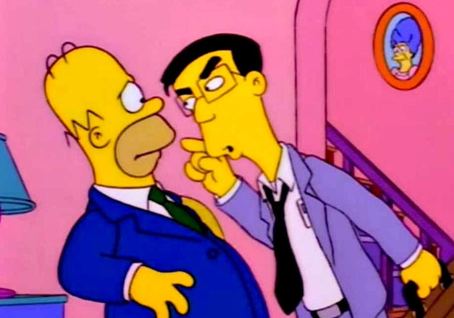 Frank Grimes kann nicht verstehen, wie ein Trottel wie Homer ein solches Glück finden konnte
