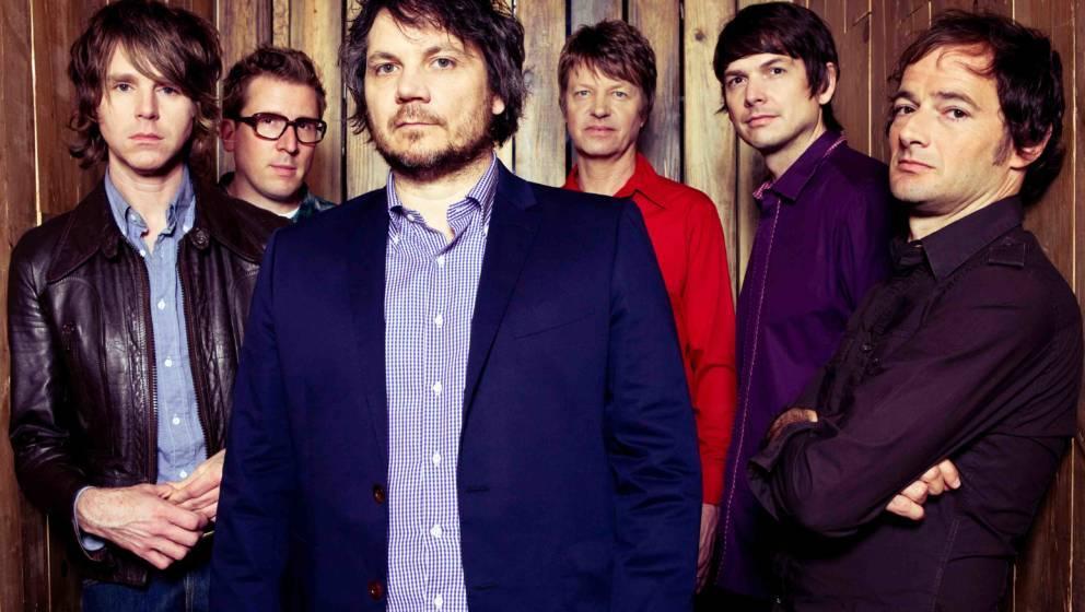 Wilco: Patrick Sansone, Mikael Jorgensen, Jeff Tweedy, Nels Cline, Glenn Kotche und John Stirratt