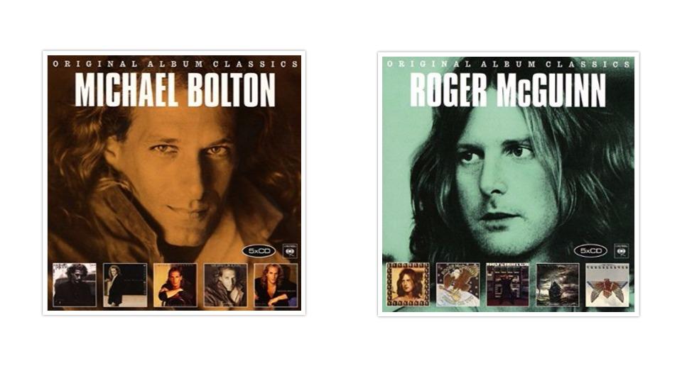 Low-Price-Box-Sets von Roger McGuinn und Michael Bolton