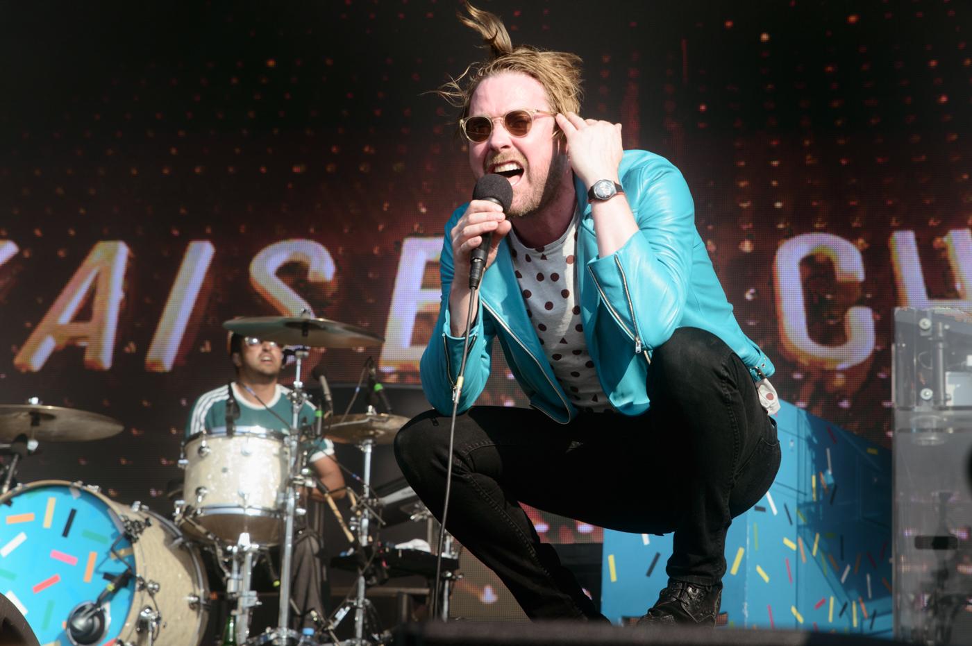 Die Kaiser Chiefs am Lollapalooza 2016