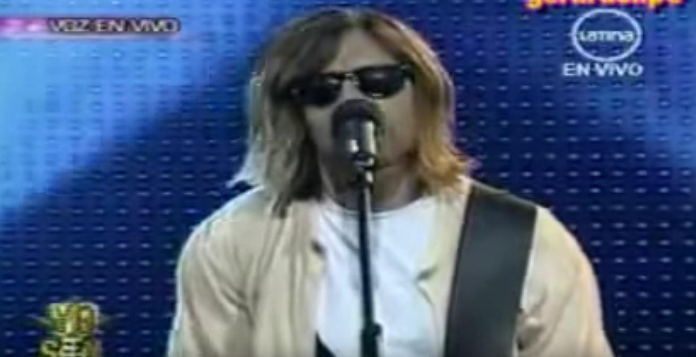 Das wird doch nicht etwa wirklich Kurt Cobain sein?!