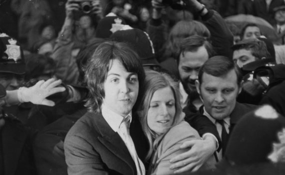 Paul McCartney mit Linda