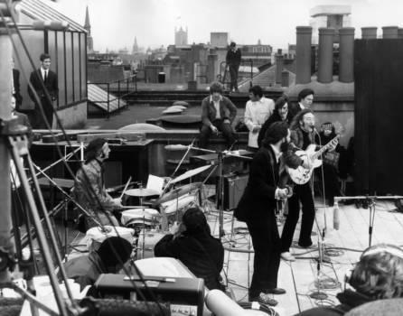 Der legendäre Rooftop Gig