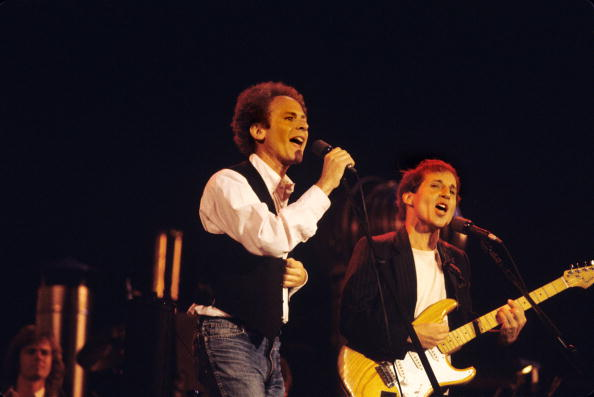 UNITED STATES - SEPTEMBER 19:  CENTRAL PARK  Photo of SIMON & GARFUNKEL and Paul SIMON and Art GARFUNKEL, Art Garfunkel a
