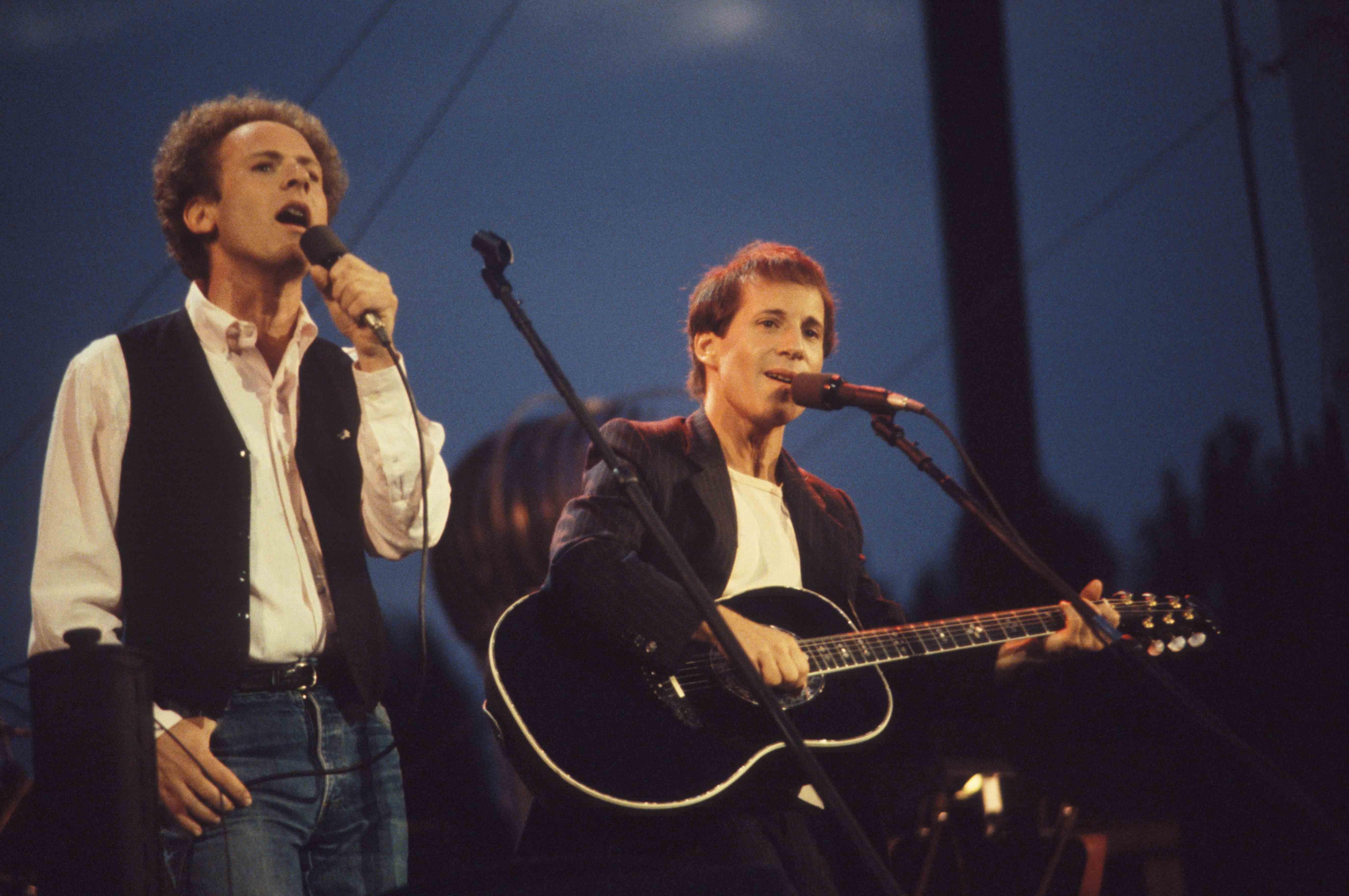 Denkwürdiger Moment für Simon & Garfunkel