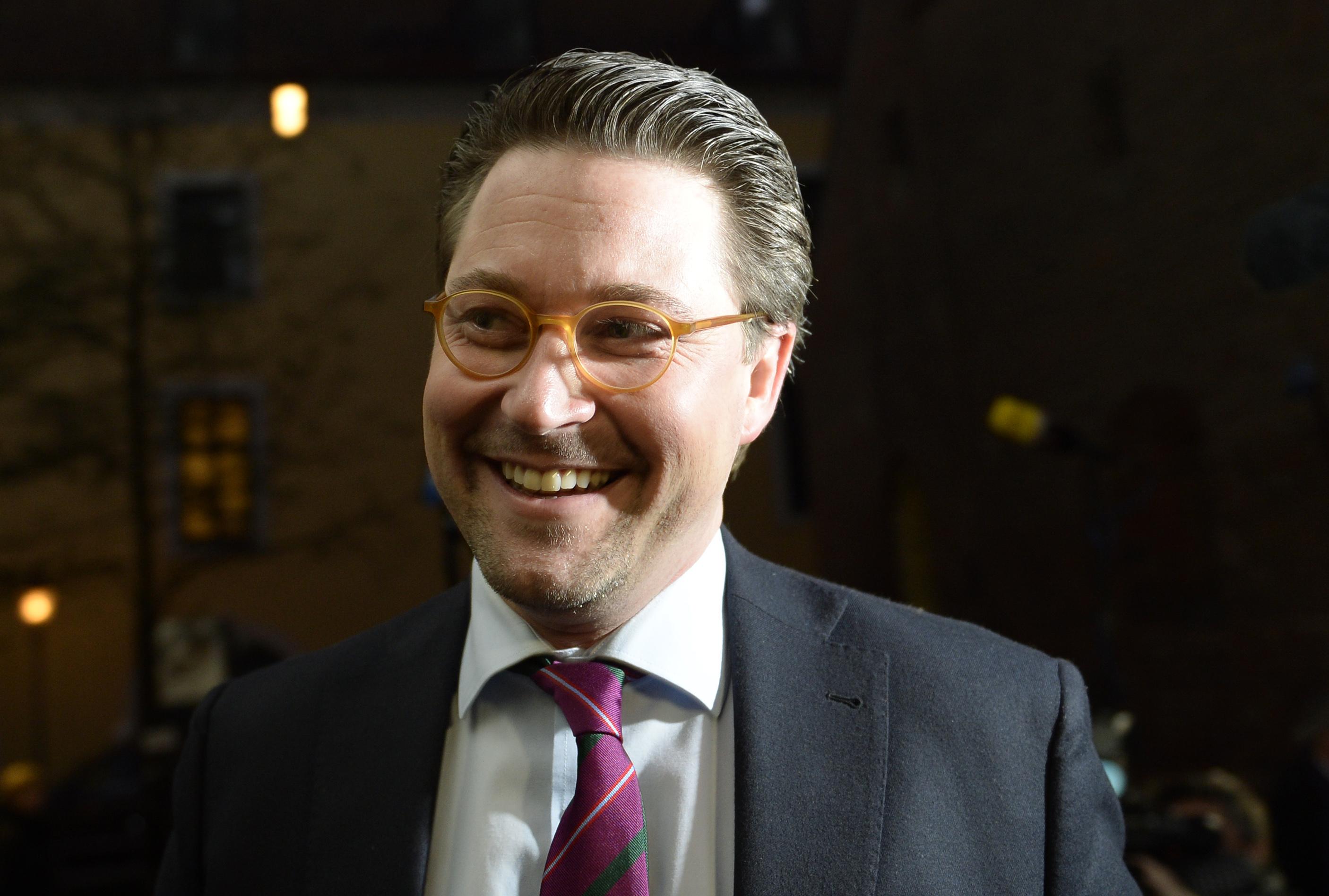 Andreas Scheuer (CSU) hat derzeit nicht ganz so gut lachen
