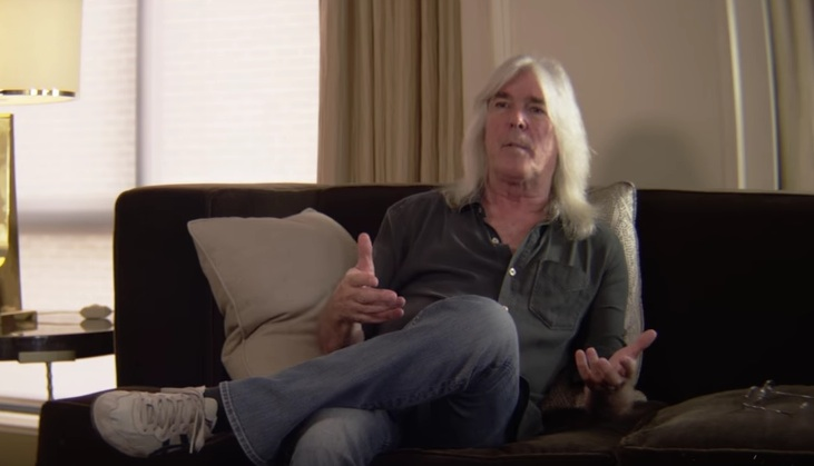 Cliff Williams sagt leise Servus