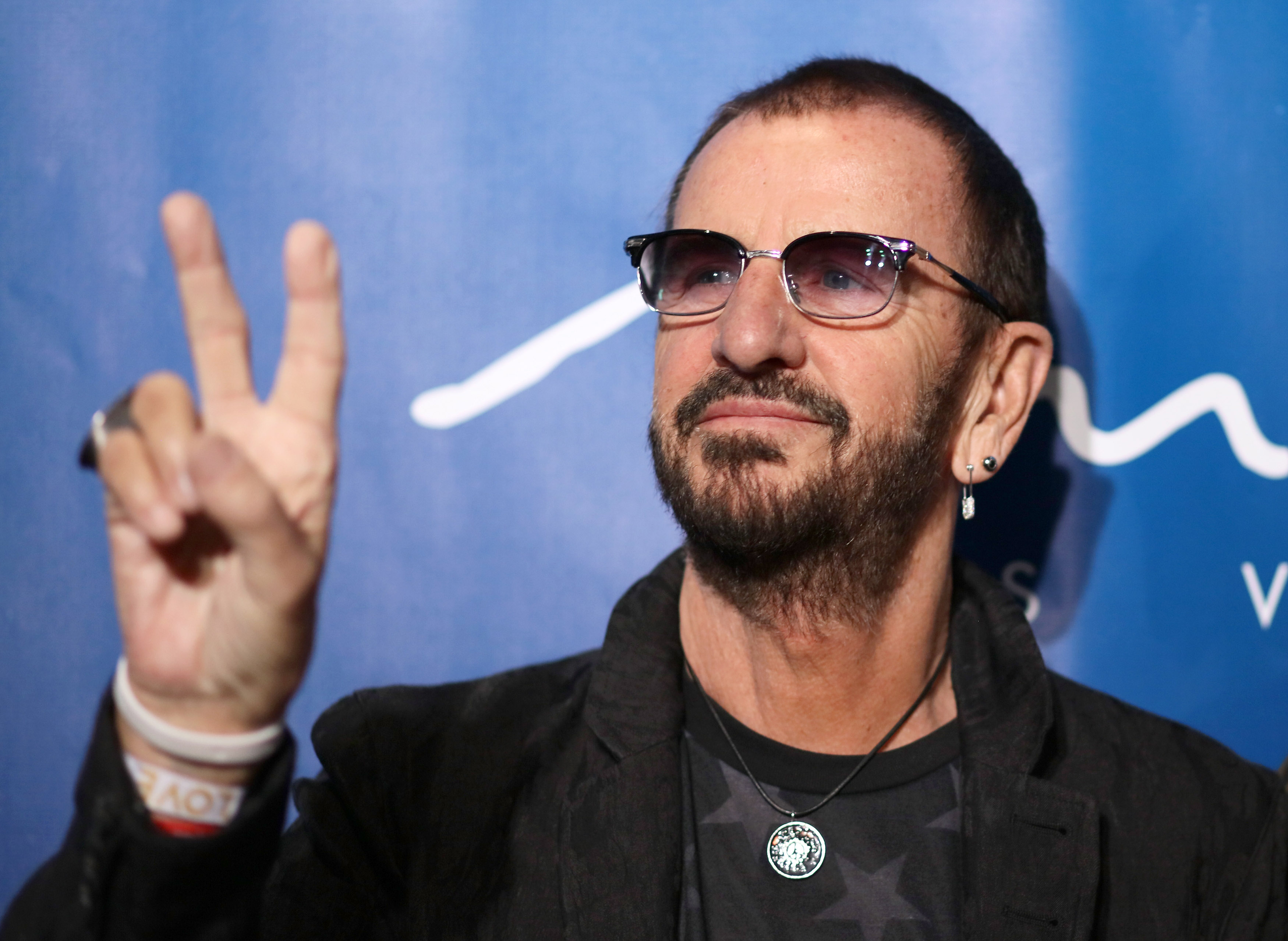 LAS VEGAS, NV - JULY 14: Ringo Starr attends the 10th anniversary celebration of 'The Beatles LOVE by Cirque du Soleil' at Th