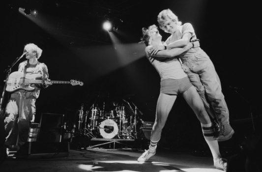 """Bei der """"Ghost In The Machine Tour"""", 1981 in Philadelphia"""