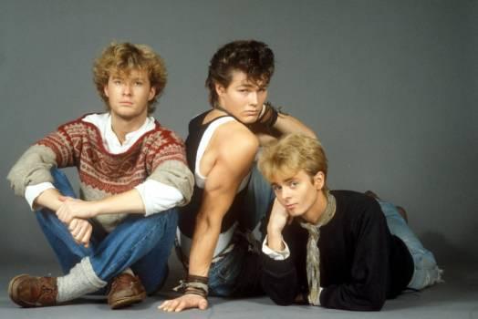 A-ha 1986: Magne Furuholmen, Morten Harket, Pal Waktaar