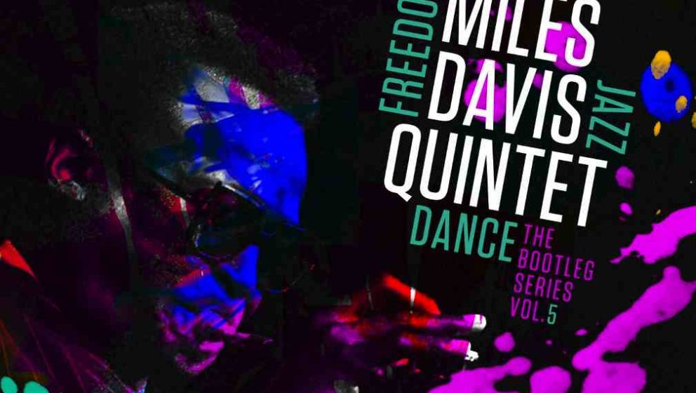 "Das bunte Cover von ""Freedom Jazz Dance: The Bootleg Series, Vol 5"" des Miles Davis Quintet"