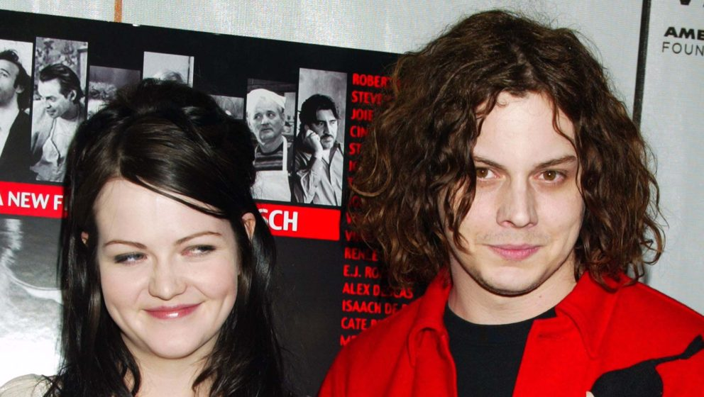 The White Stripes (Meg und Jack White) im Jahr 2004.