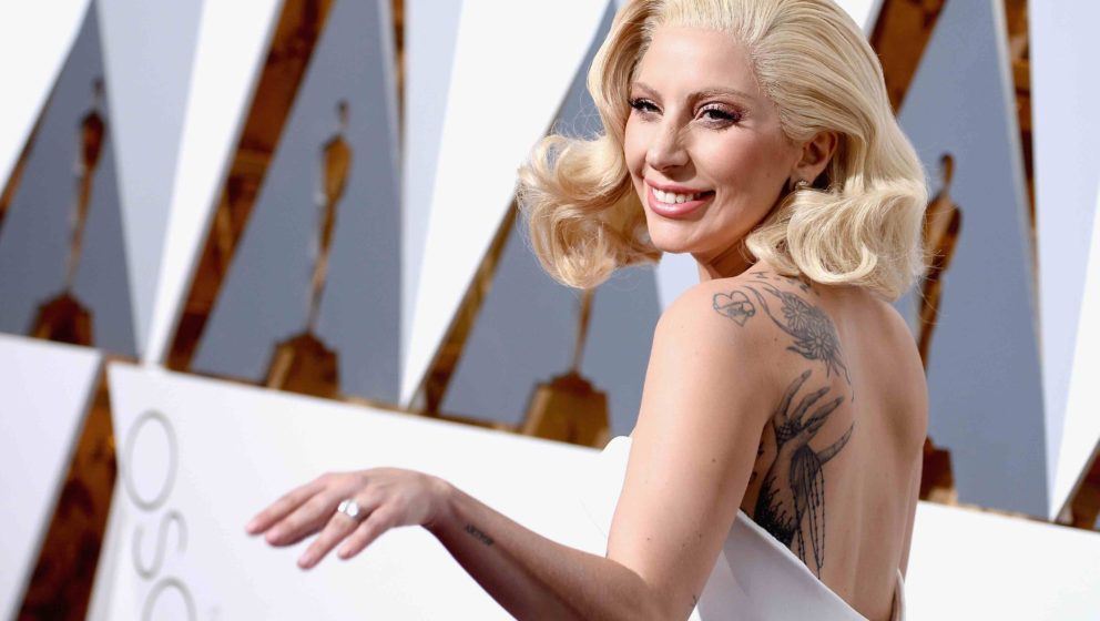 HOLLYWOOD, CA - FEBRUARY 28:  Singer Lady Gaga attends the 88th Annual Academy Awards at Hollywood & Highland Center on F