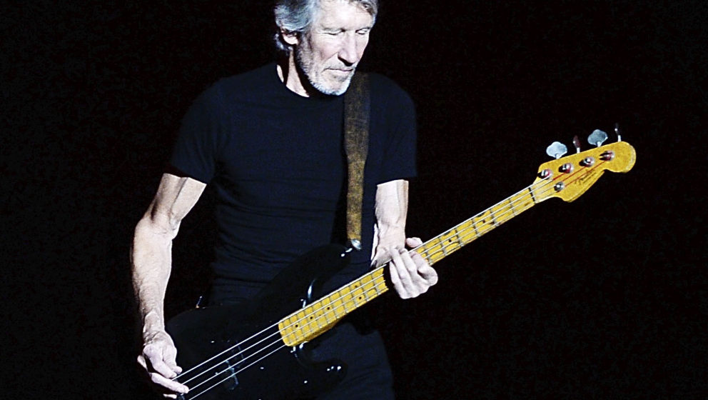 INDIO, CA - OCTOBER 09:  Roger Waters performs during Desert Trip at The Empire Polo Club on October 9, 2016 in Indio, Califo