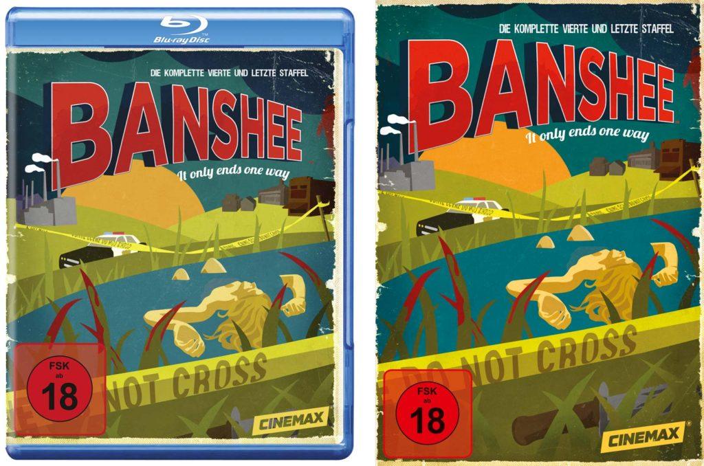"""Staffel 4 von """"Banshee"""" auf Blu-ray und DVD"""